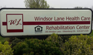 New Windsor Lane sign